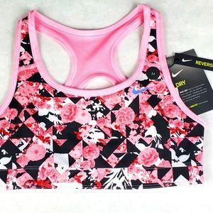 Nike Dry Girls Swoosh Reversible Sports Bra